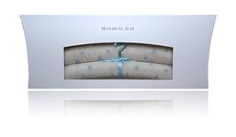 Kinderkleiderbügel Röschen bleu