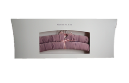 "Satin covered hanger ""mauve"""
