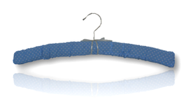 "Padded hanger ""Polka dot . Mr Blue sky"""