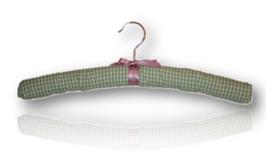 Cintre de charme  Vichy vert