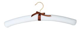 Luxury hanger Satin crème