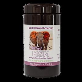 MSM Kapseln für Afrikanische Elefanten by Robert Franz