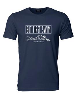 Herren T-Shirt BUT FIRST SWIM