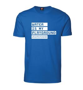 Herren T-Shirt WATER IS MY PLAYGROUND