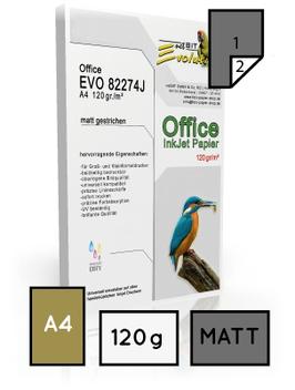 Office EVO 82274, matt gestrichen, DIN A4, 120 gr. | 200 Blatt