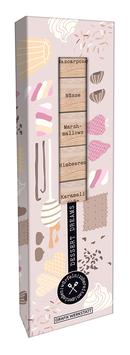 Rezept-Holzwürfel-Box Dessert Dreams