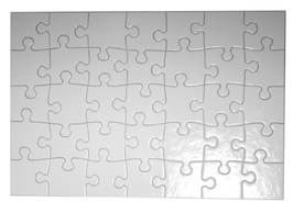 Puzzle personnalisé A4 35 pièces