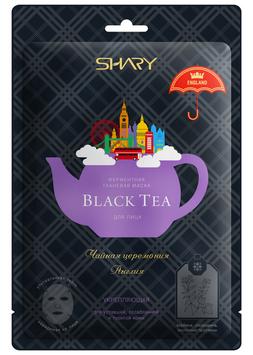 Shary  Ферментная маска BLACK TEA  укрепляющая  25 г