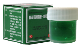 """KONZON Гель для тела """"Линькэмэйсу китайский зеленый"""", (зеленка)10гр"""