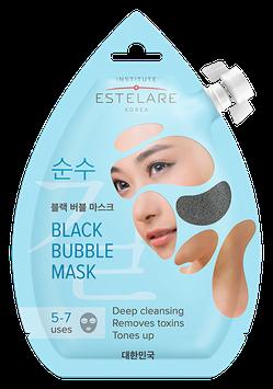 Estelare  Черная пенящаяся маска для лица ОЧИЩАЮЩАЯ  20 мл