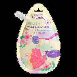 "Funny Organix  Тонер-бустер для лица для нормальной кожи Secret Snail  20 мл              """