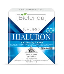 BIELENDA NEURO HIALURON Подтягивающий крем - концентрат 50+ дневной/ночной 50мл