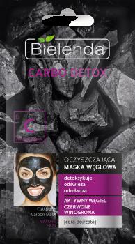 BIELENDA CARBO DETOX Маска очищающая с активированным углем для зрелой кожи 8г