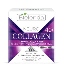 BIELENDA NEURO COLLAGEN Увлажняющий крем -концентрат против морщин 40+ дневной/ночной 50мл
