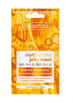 BIELENDA MATT BOOSTER JELLY MASK Гелевая маска д/кожи смешанного типа и жирной кожи 8г