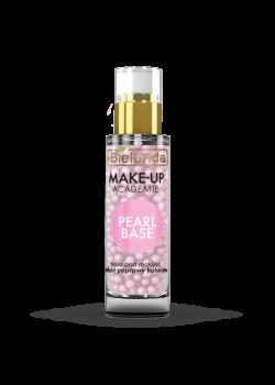 BIELENDA MAKE-UP ACADEMIE PEARL BASE - розовая база под макияж 30г
