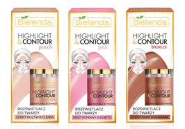 BIELENDA Хайлайтер HIGHLIGHT & CONTOUR  для лица  15мл