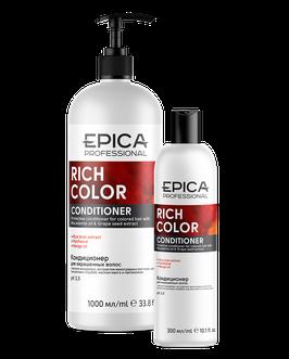 Кондиционер EPICA RICH COLOR для окрашенных волос 5000, 1000 и 300 мл