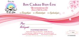 """Bon Cadeau   """"Un Moment pour Soi"""""""
