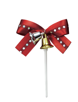 Ribbon Bell Red