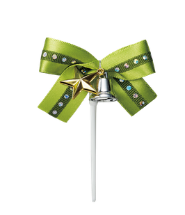 Ribbon Star Green