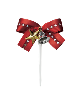 Ribbon Star Red