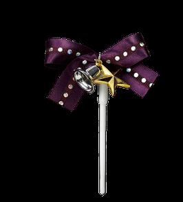 Ribbon Star Purple