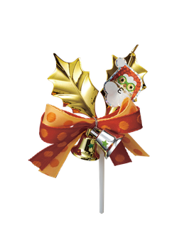 Gold leaf santa 1