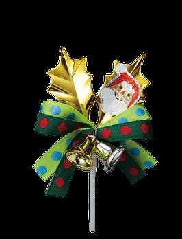 Gold leaf santa 3