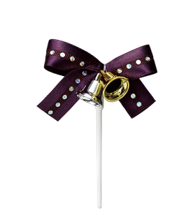 Ribbon Bell Purple