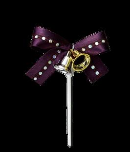 Ribbon Bell Purple