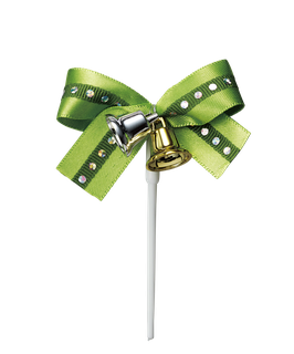 Ribbon Bell Green