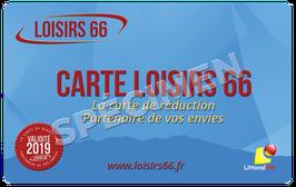 CARTE LOISIRS 66 - Validité 2019