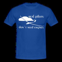 Segelflieger T-shirt - realpilot