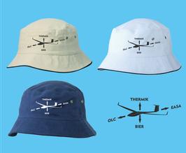 klassischer Segelflieger-Hut -Kraftpfeile