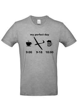 Segelflieger T-shirt - Thermikkreis Segelflugzeuge
