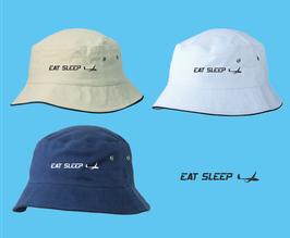 klassischer Segelflieger-Hut -eat sleep fly