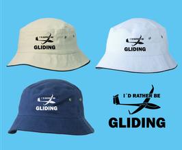klassischer Segelflieger-Hut -rather be gliding