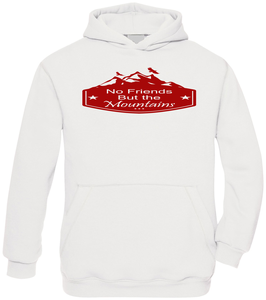 No Friends But the Mountains  -  Hoodie