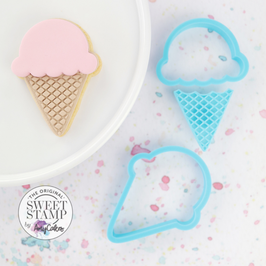 SweetStamp - Cutter & Embosser Ice cream