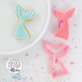 SweetStamp - Cookie Cutter & Embosser Mermaid Tail