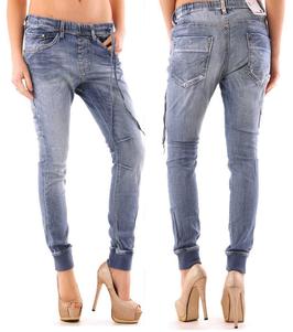 Sexy Woman Damen Jeans Hose - Denim Relaxhose Größe M-L