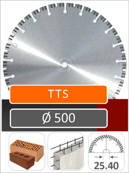TTC 500 OPNAME 25.40mm