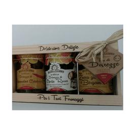 Delizie di Calabria - Tris di marmellate di ortaggi