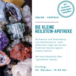 """Online-Vortrag """"Kleine Heilstein-Apotheke"""""""