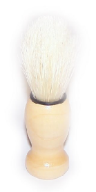 Blaireau de rasage - poils de sanglier