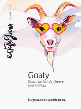 Goaty, savon lait de chèvre