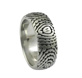 RH384 Edelstahl Ring
