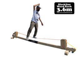 スラックラインフリーク ウッドラック 3.6m