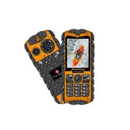 "Telefono celular multimedia MaxWest Ranger, 2.4"" TFT, 240x320, Dual SIM, Desbloqueado."